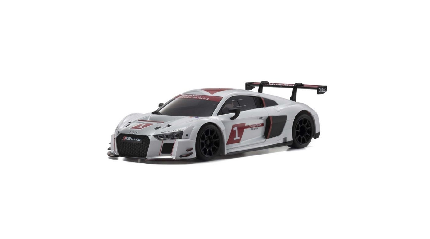 Image for MINI-Z RWD Audi R8 LMS 2015 2WD RTR, White from HorizonHobby