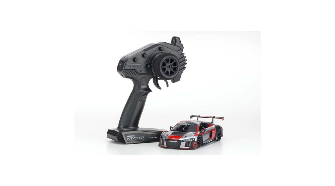 Image for MINI-Z RWD Audi R8 LMS 2016, Gray/Red from HorizonHobby
