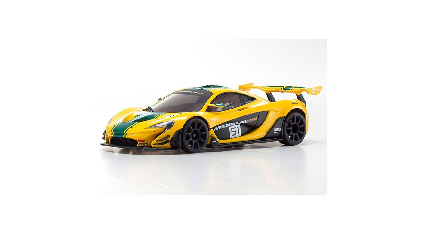 Image for MINI-Z RWD MR-03 RS McLaren P1 GTR 2WD RTR, Yellow/Green from HorizonHobby