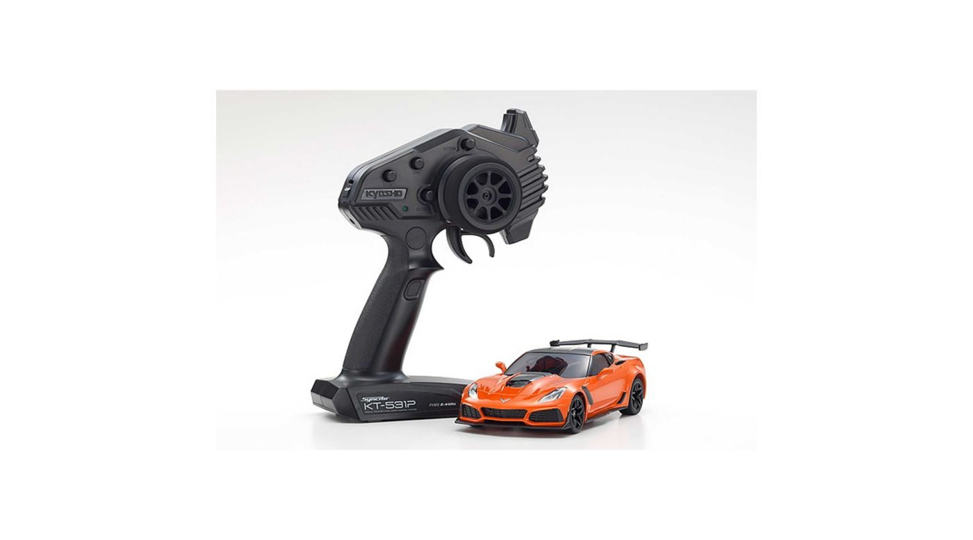 Image for MINI-Z RWD Corvette ZR1 2WD RTR, Orange with LED from HorizonHobby