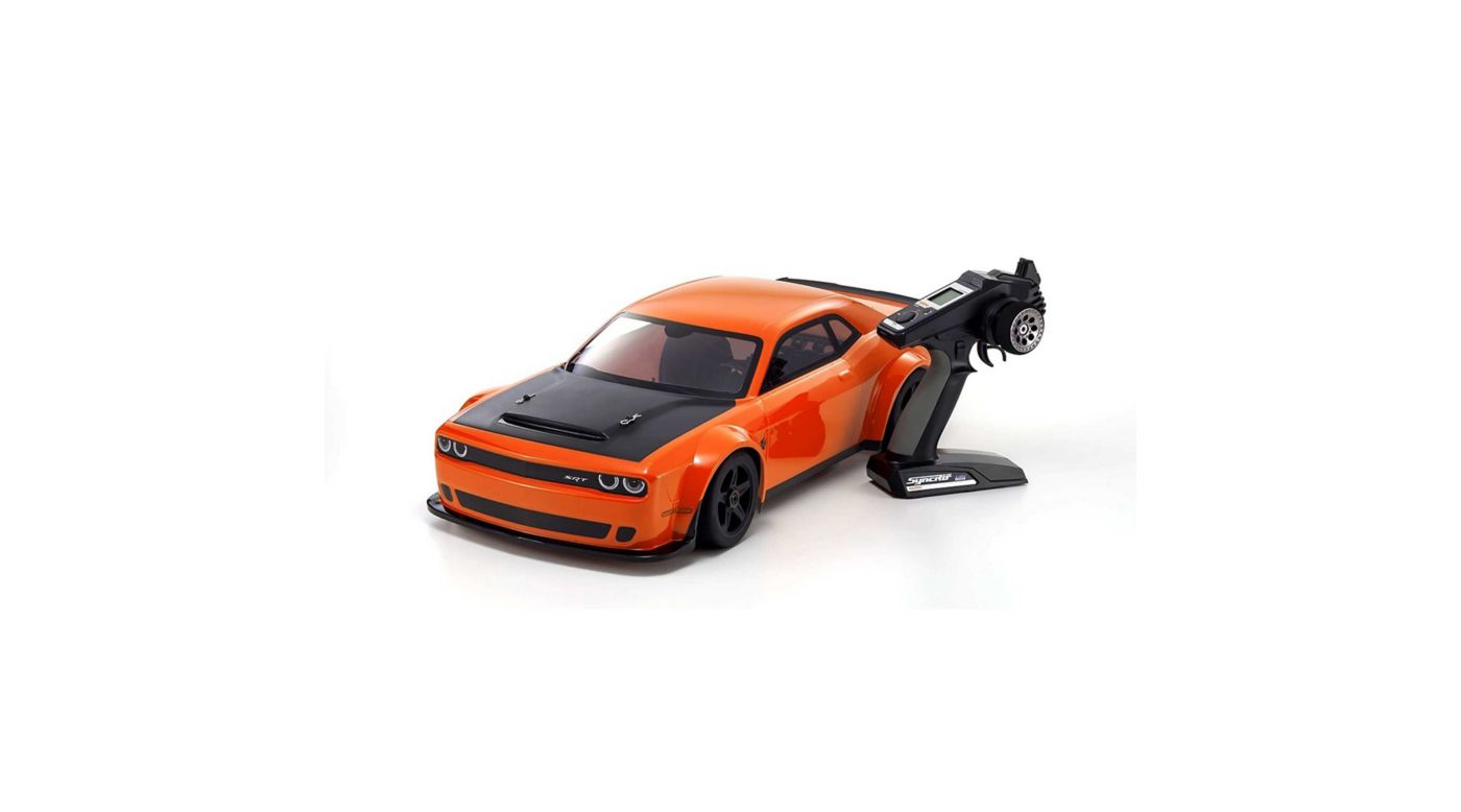 Image for 1/8 Inferno GT2 GP Challenger Demon Readyset, Orange from HorizonHobby