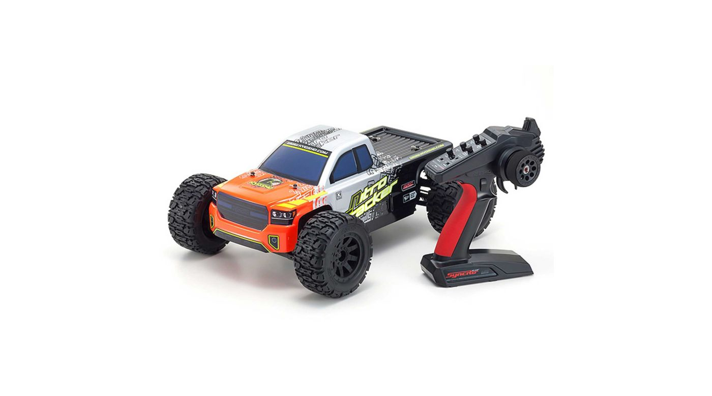Image for 1/10 Nitro Tracker GP Readyset from HorizonHobby