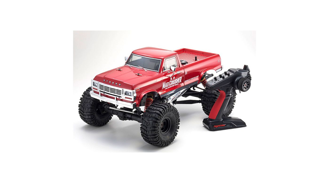 Image for 1/8 GP-MT Mad Crusher 4WD Nitro Monster Truck RTR from HorizonHobby