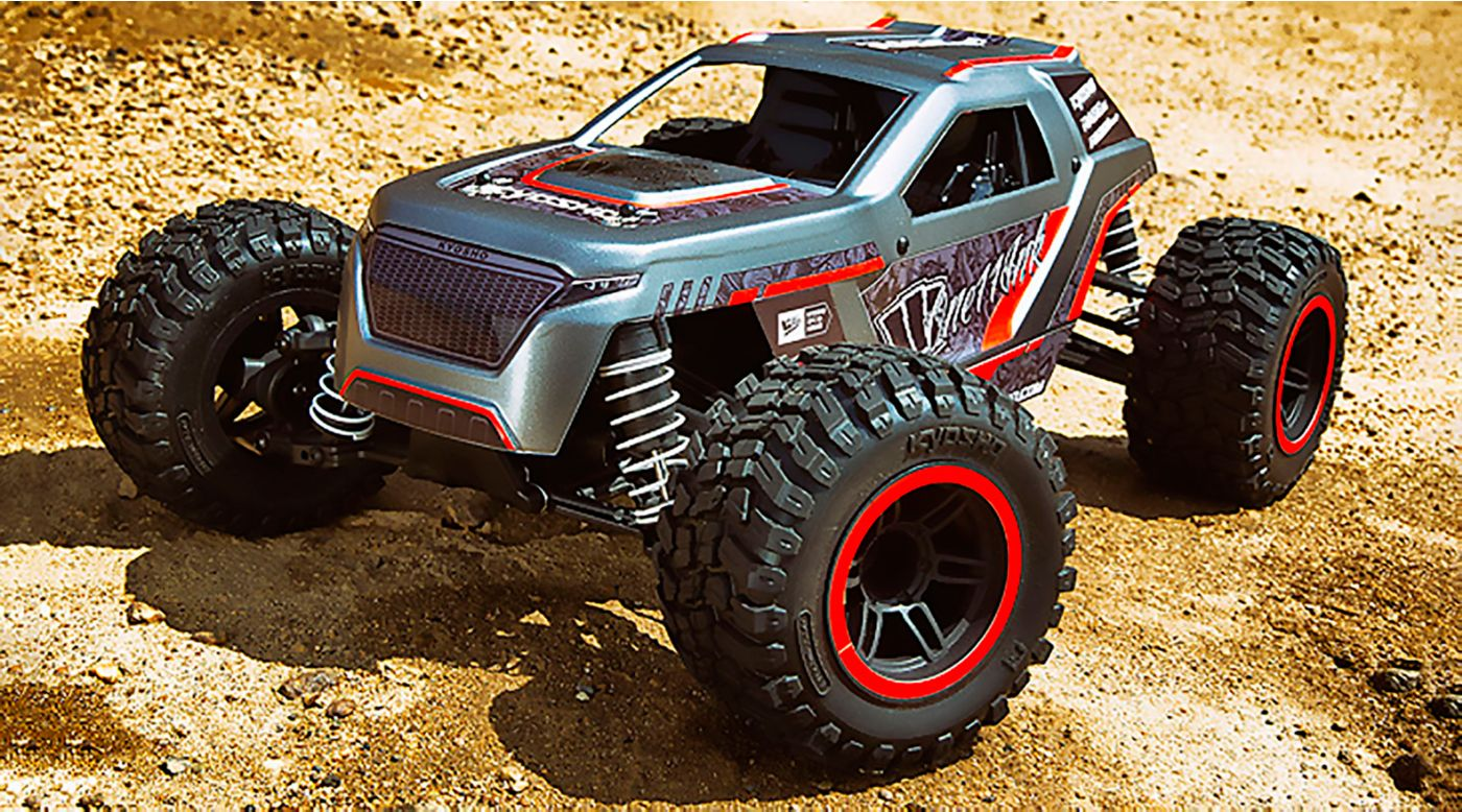 Image for 1/10 Fazer Mk2 Rage 2.0 4WD Brushed RTR, Red from HorizonHobby