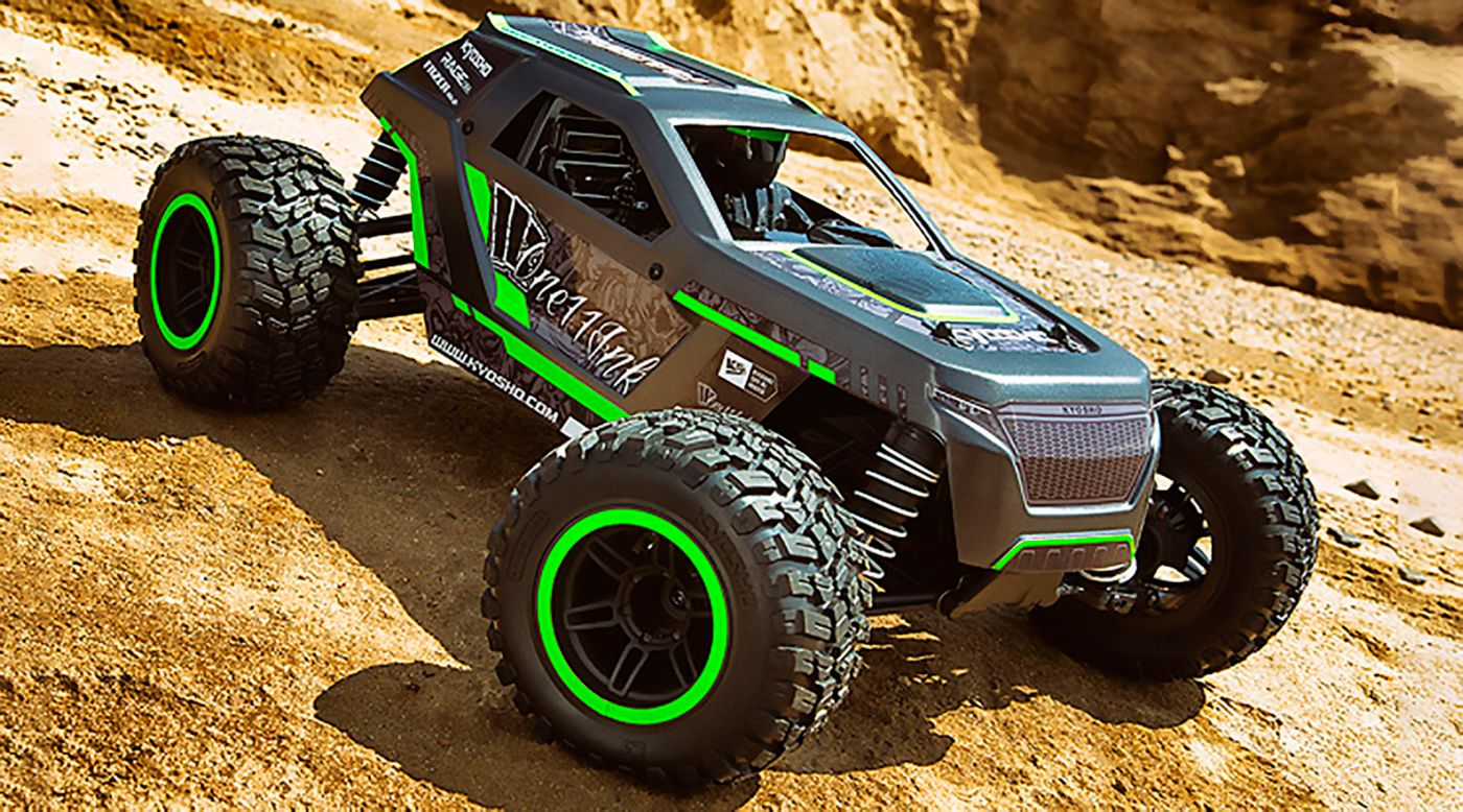 Image for 1/10 Fazer Mk2 Rage 2.0 4WD Brushed RTR, Green from HorizonHobby