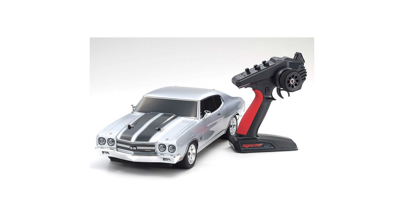 Image for 1/10 Fazer Mk2 Chevelle 4WD Brushed RTR, Silver from HorizonHobby