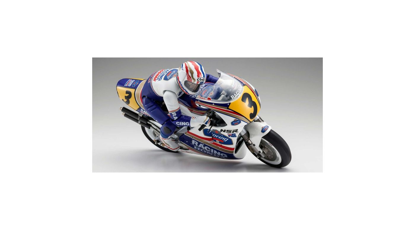 Image for 1/8 HONDA NSR500 Hang On Racer Electric Motorcycle Kit from HorizonHobby