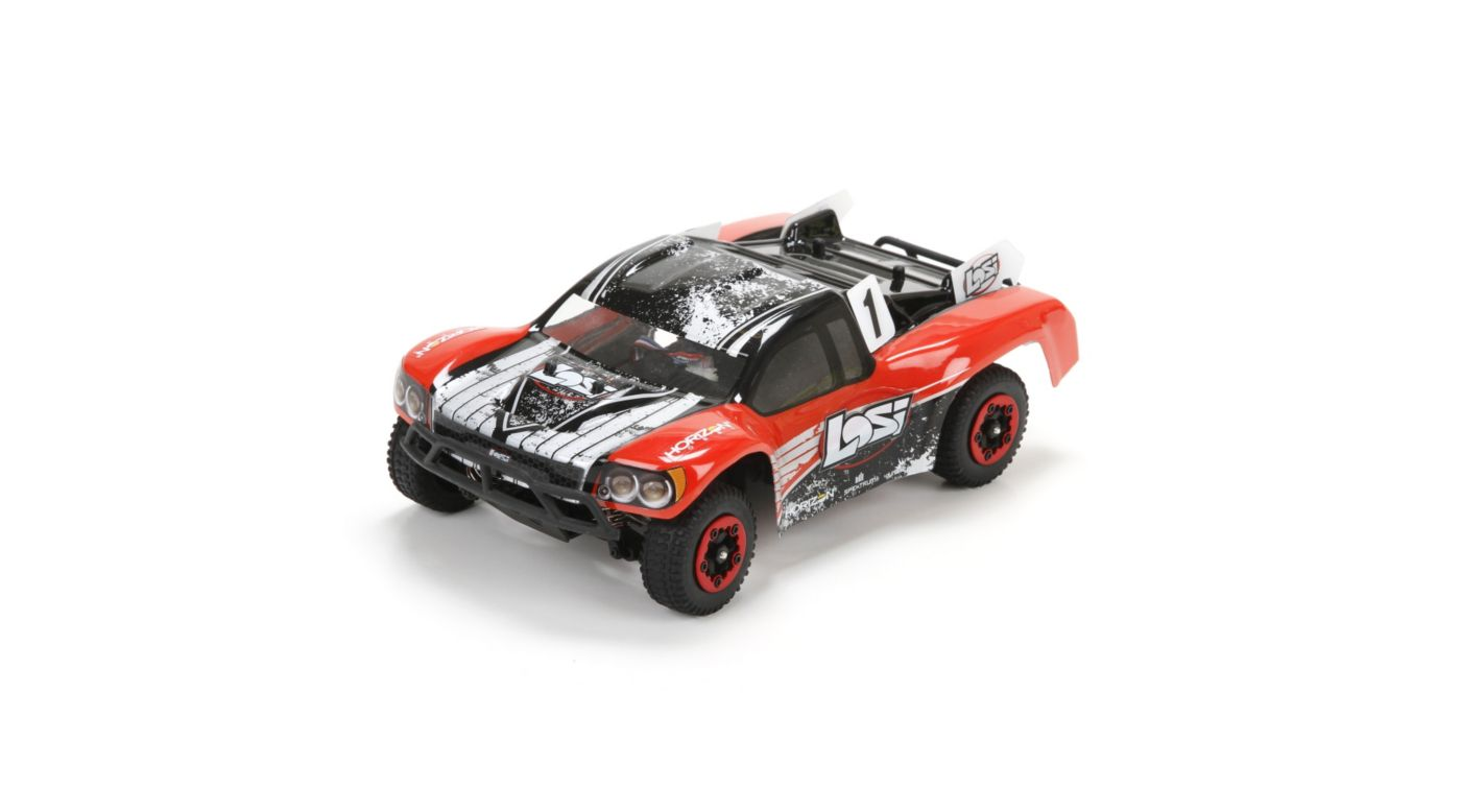 Image for 1/24 Micro SCTE 4WD RTR Red from HorizonHobby