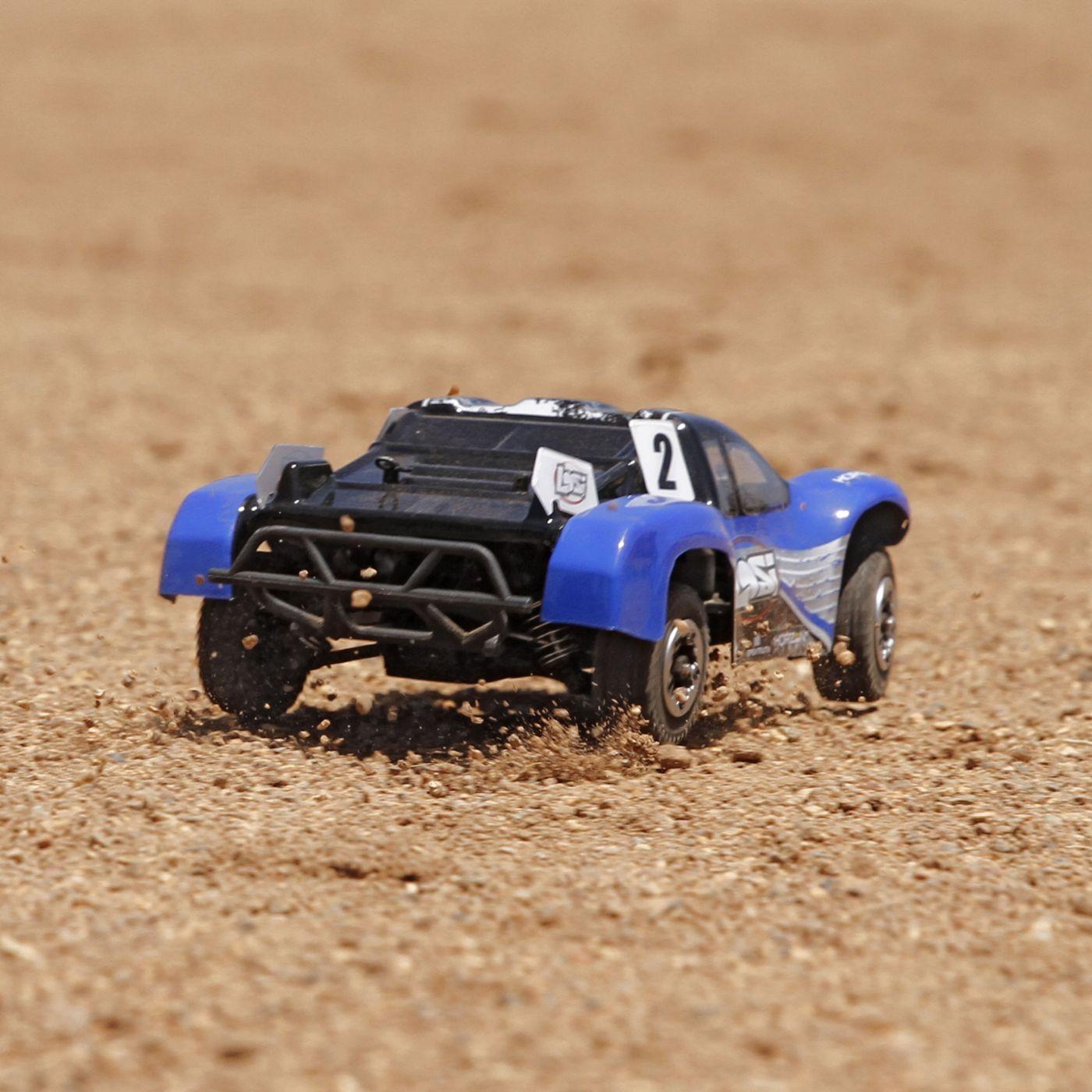 1 24 Micro SCTE 4WD RTR Blue