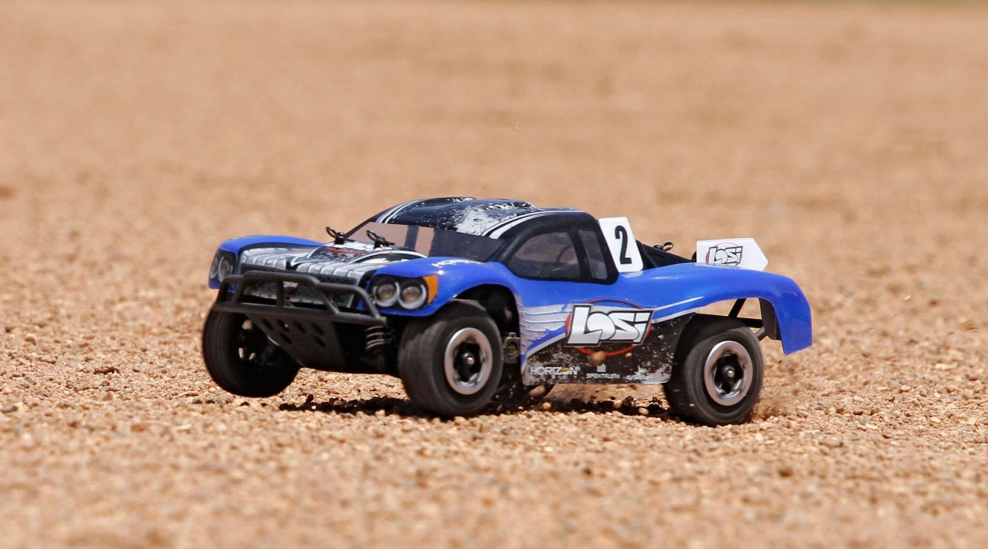 Image for 1/24 Micro SCTE 4WD RTR Blue from HorizonHobby