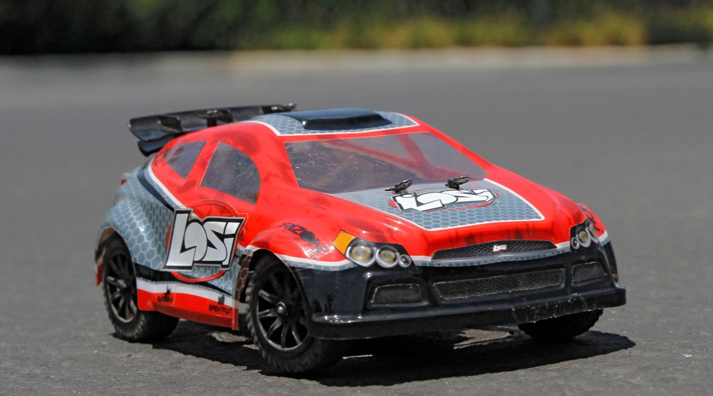 Image for 1/24 Micro Rally X 4WD RTR Red from HorizonHobby