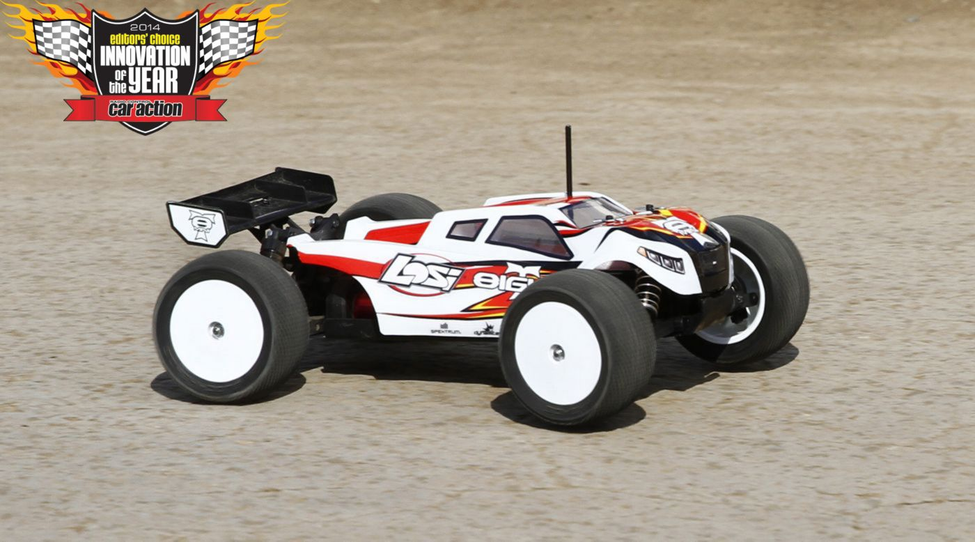 Image for 1/14 Mini 8IGHT-T 4WD Truggy Brushless RTR with AVC from Horizon Hobby