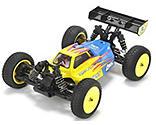 Losi - LOSI Mini 8ight RTR, AVC 1/14 4WD Buggy Blau