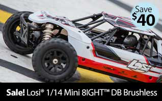 Losi 1/14 Mini 8IGHT-DB 4WD Buggy Brushless RTR RC