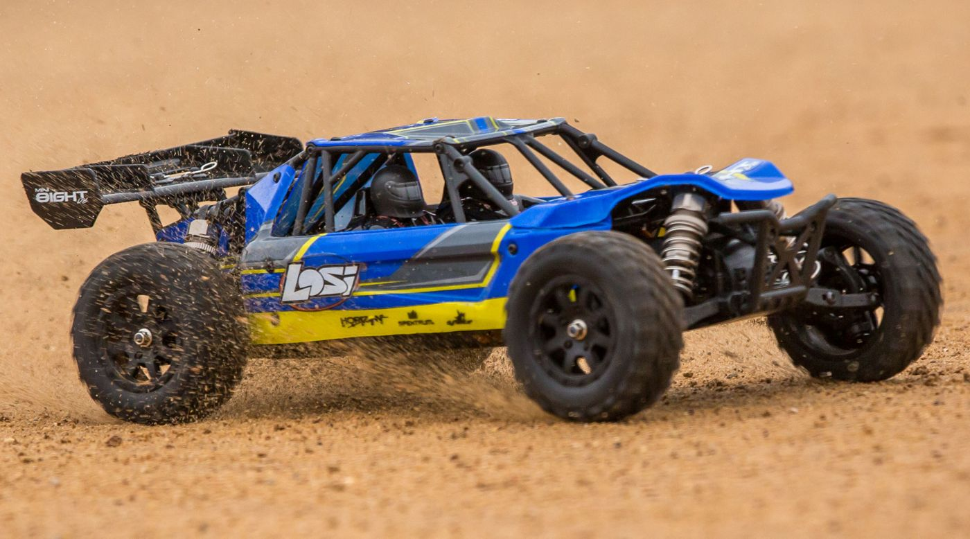 Image for 1/14 Mini 8IGHT-DB 4WD Buggy Brushless RTR, Blue from HorizonHobby