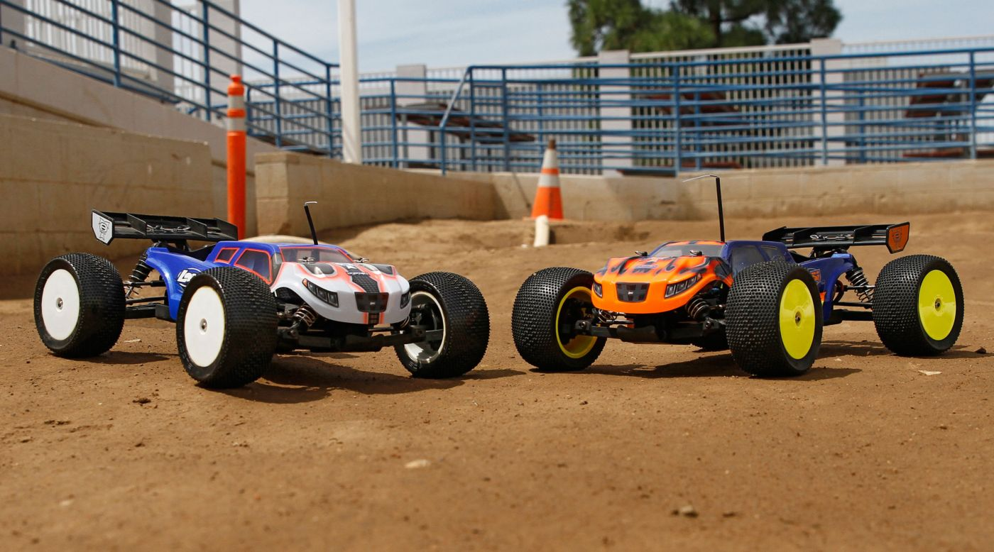Image for 1/14 Mini 8IGHT-T 4WD Truggy RTR, Phend Edition from HorizonHobby