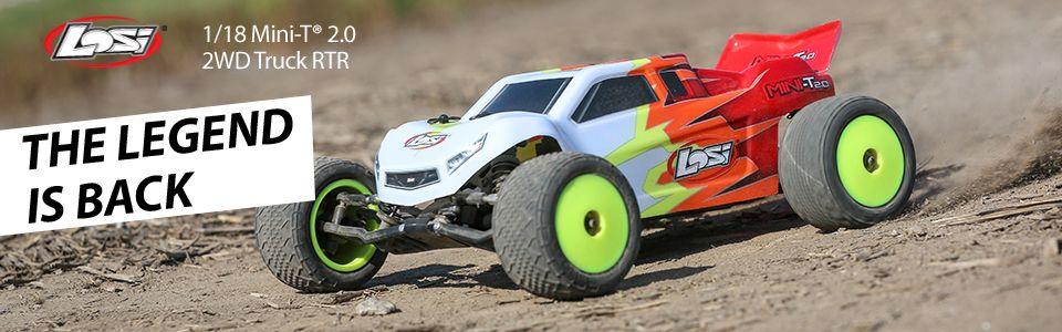 Losi 1/18 Mini-T 2.0 2WD Truck RTR