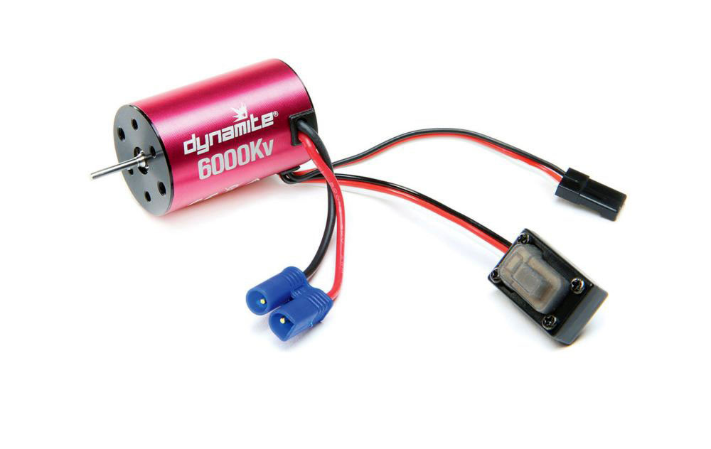 Dynamite 6000Kv Brushless Motor/ESC 2-in-1 Combo