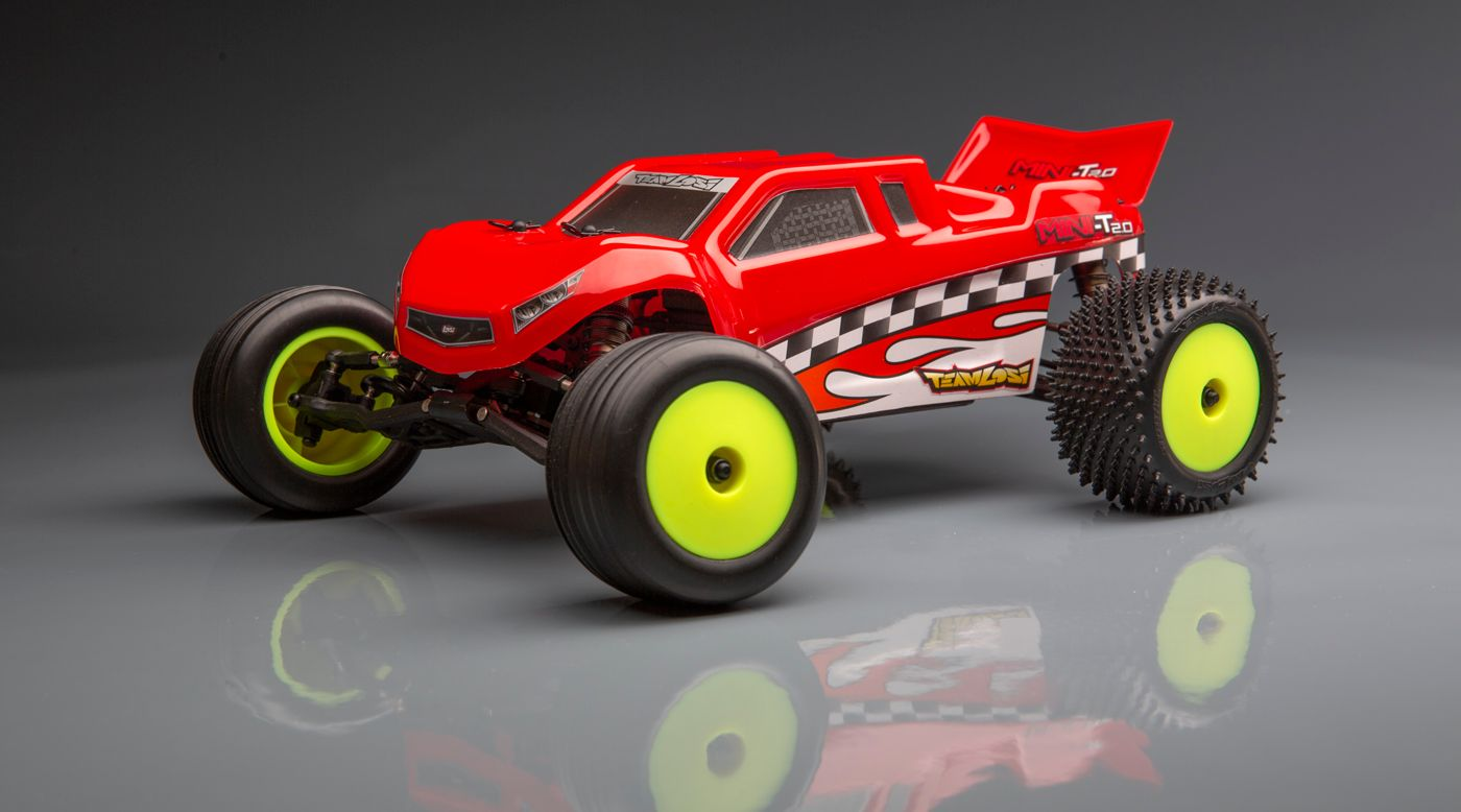 Image for 1/18 Mini-T 2.0 Stadium Truck Brushless RTR, 40th Anniversary Limited Edition from HorizonHobby