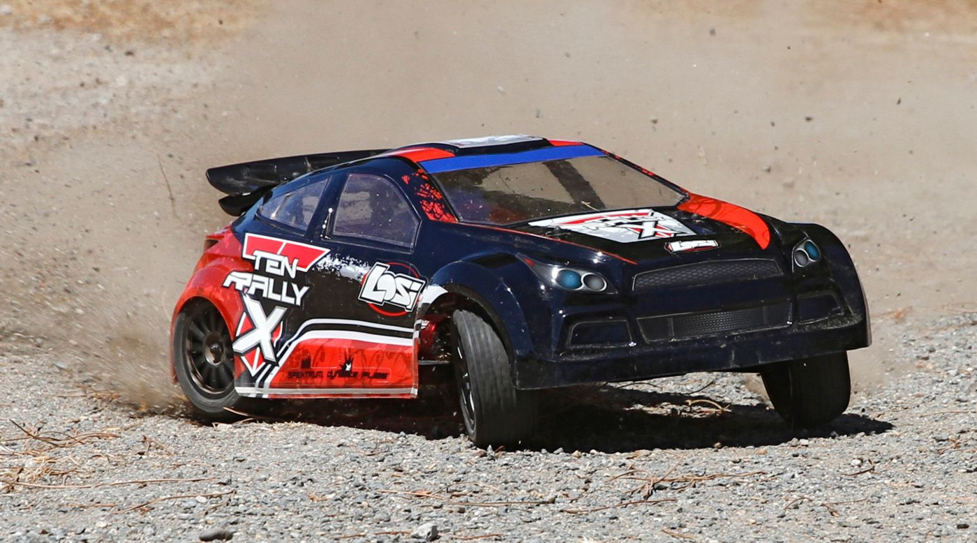 Image for 1/10 TEN-Rally X 4WD Rally Car RTR with AVC Technology from HorizonHobby