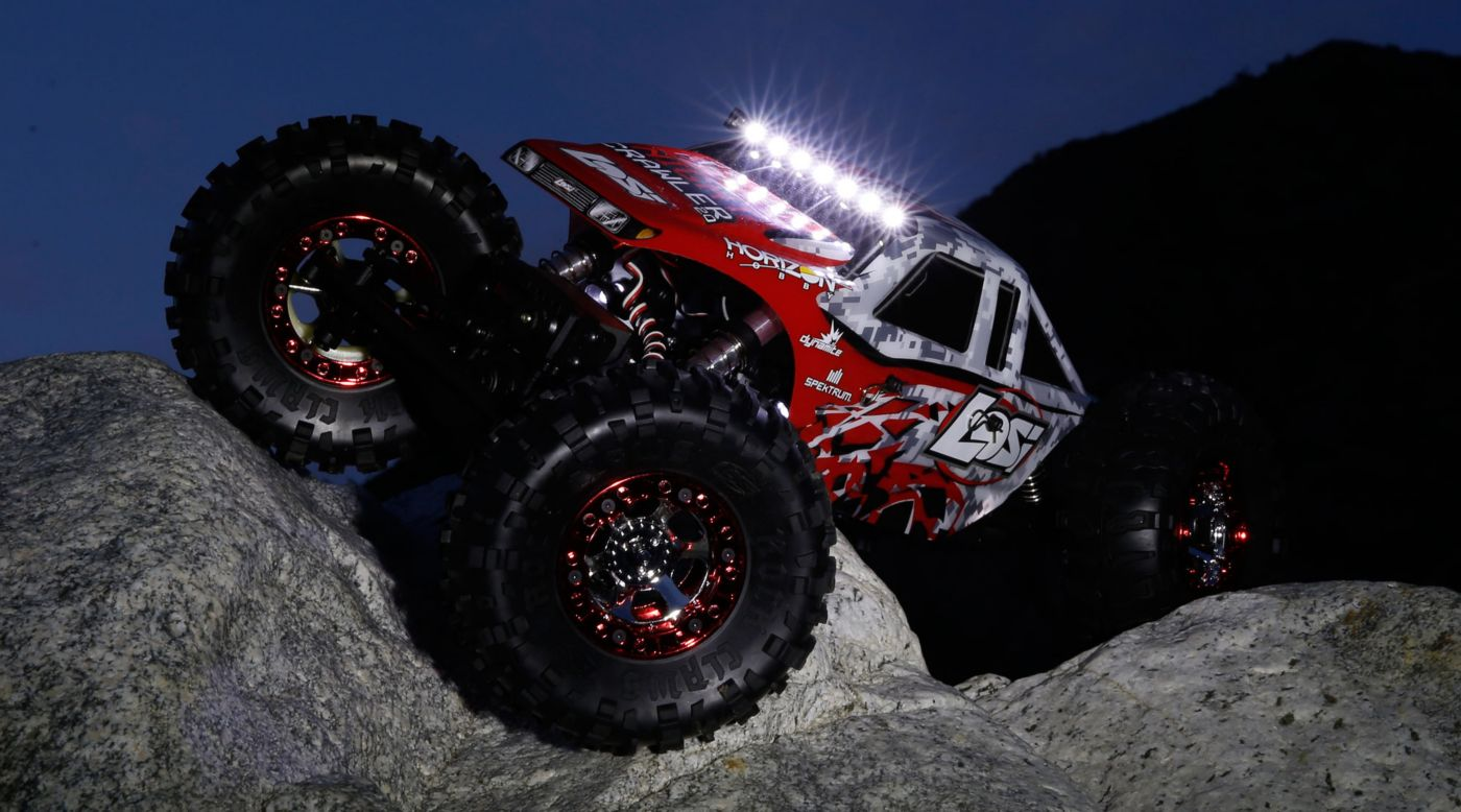 Image for 1/10 Night Crawler 2.0 4WD Rock Crawler Brushed RTR from HorizonHobby