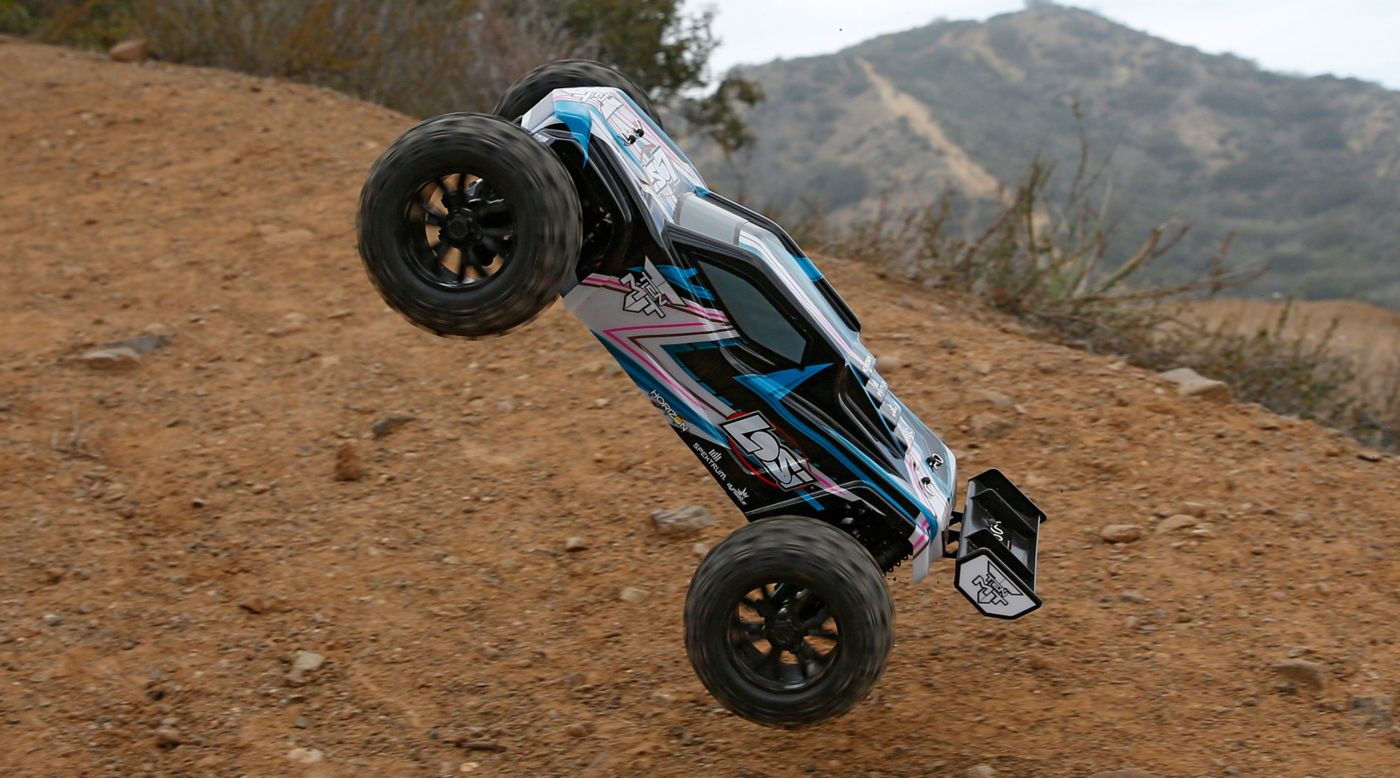 Image for 1/10 TEN-MT 4WD Brushless RTR with AVC, Blue from HorizonHobby