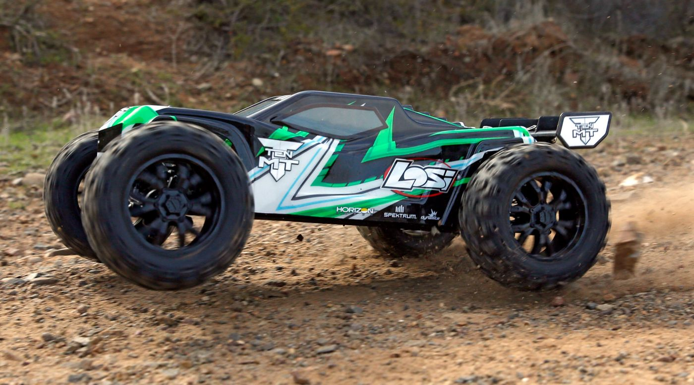 Image for 1/10 TEN-MT 4WD Brushless RTR with AVC, Green from HorizonHobby