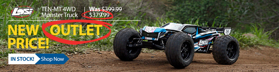 Losi TEN-MT 4WD RC Monster Truck