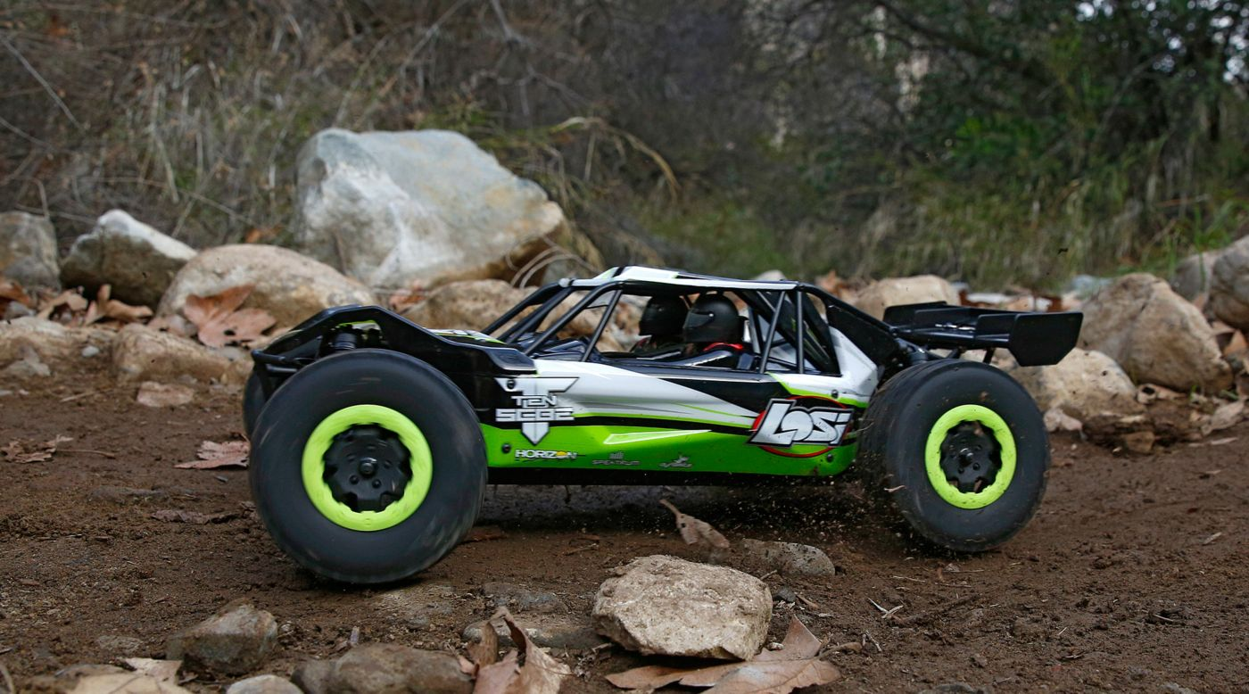 Image for 1/10 TEN-SCBE 4WD Brushless RTR with AVC, Green from Horizon Hobby