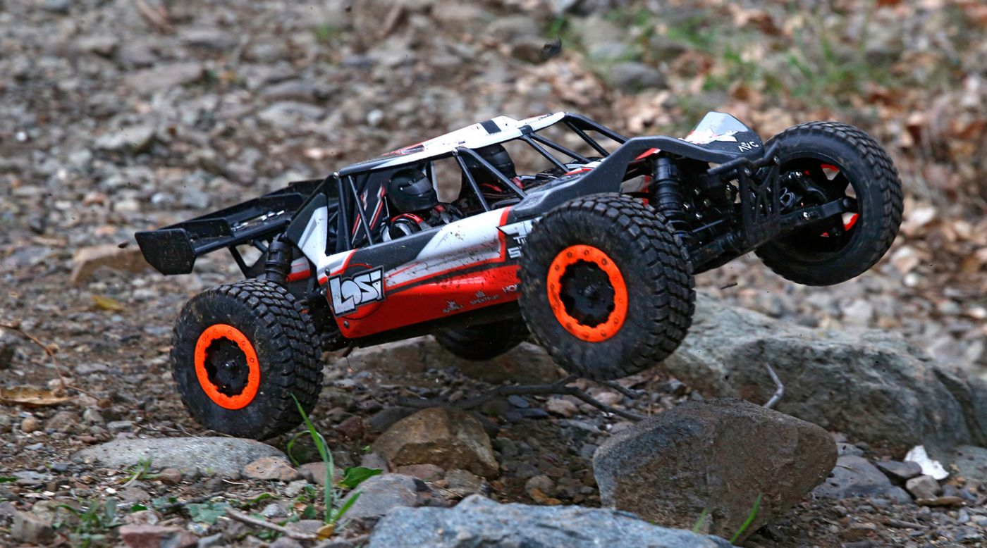 Image for 1/10 TEN-SCBE 4WD Brushless RTR with AVC, Orange from HorizonHobby