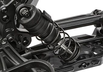 12mm Race-Inspired Plastic-Bodied Shock Absorbers