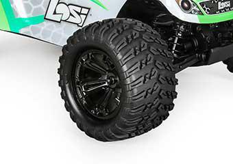 Stylish Wheel and Tire Design