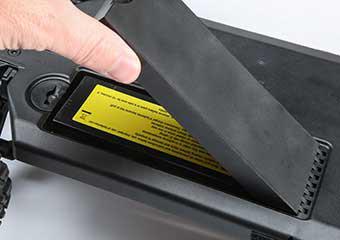 Bottom-Load Battery Tray