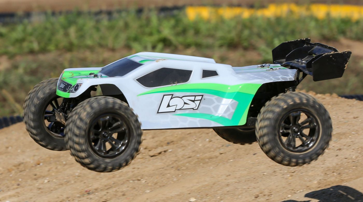 Image for 1/10 TENACITY-T 4WD Truggy Brushless RTR with AVC, White/Green from HorizonHobby
