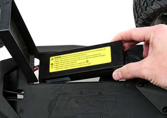 Bottom-Load Battery Tray