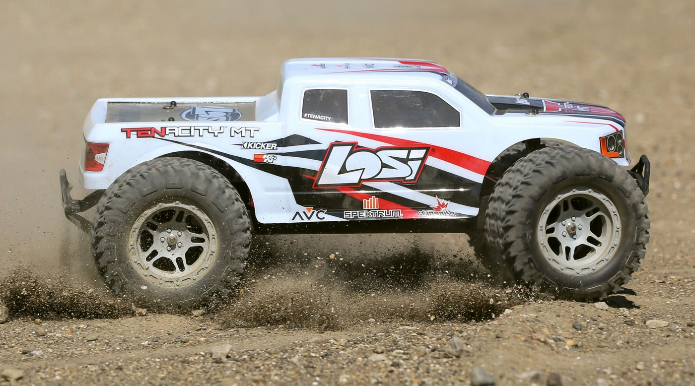 Image for 1/10 TENACITY 4WD Monster Truck Brushless RTR with AVC, White from Horizon Hobby