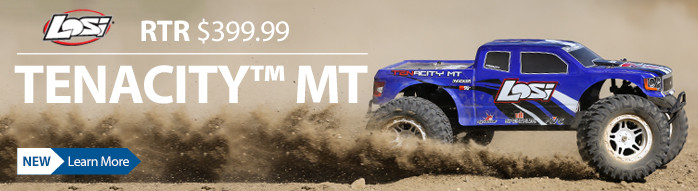 Losi TEN TENACITY 4WD Monster Truck MT RTR Ready to run