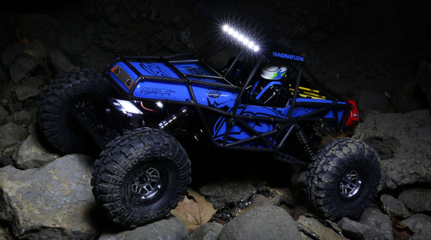 Image for 1/10 Night Crawler SE 4WD Rock Crawler Brushed RTR, Blue from HorizonHobby