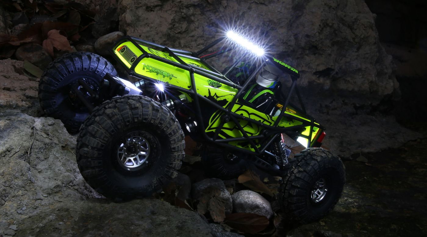 Image for 1/10 Night Crawler SE 4WD Rock Crawler Brushed RTR, Green from HorizonHobby