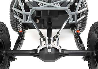 4WD Independent Front Suspension with Solid 4 Link Rear Axle