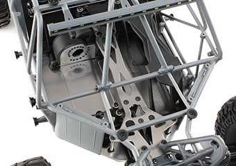 Aluminum Chassis and Injection Molded Composite Roll Cage