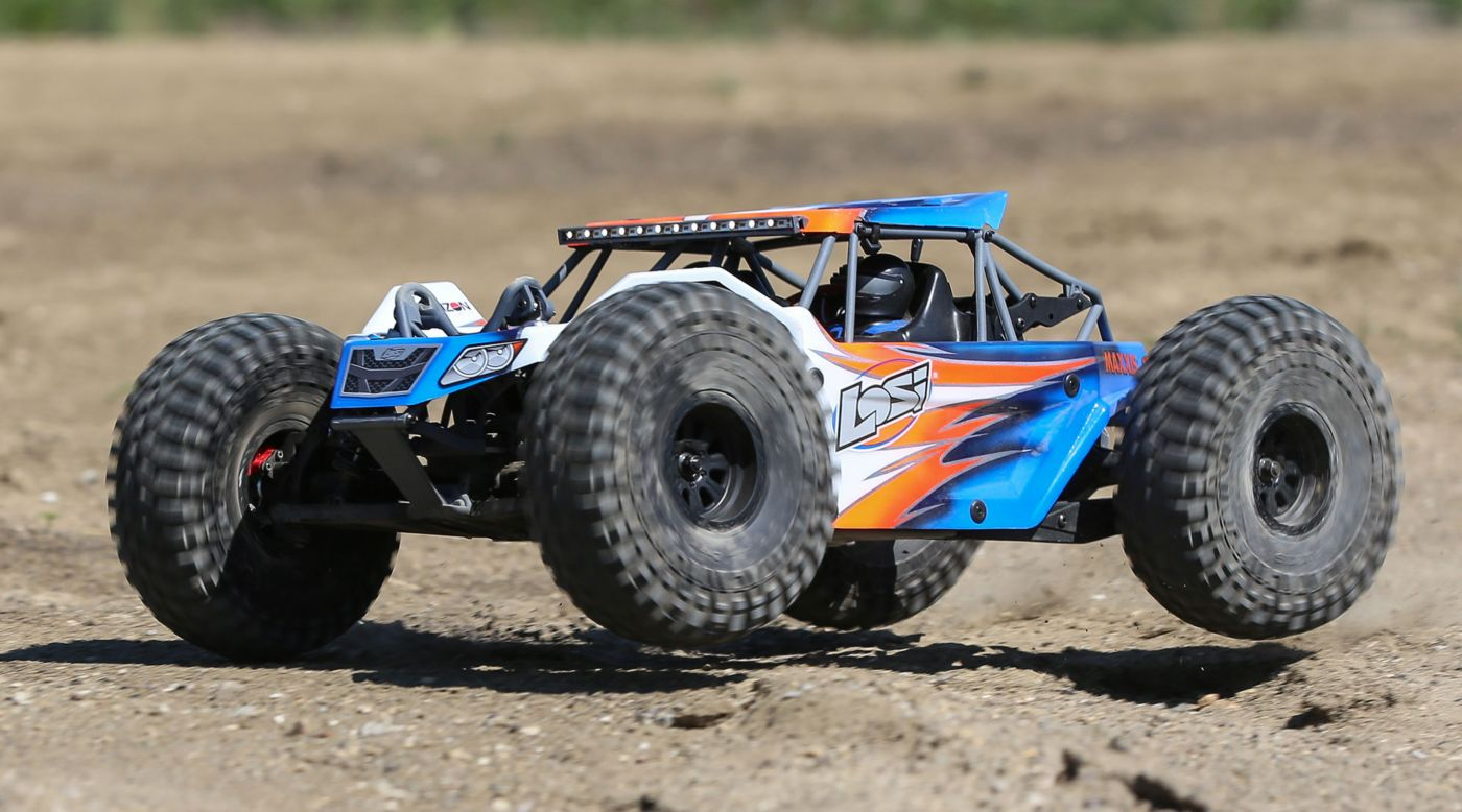 Image for 1/10 Rock Rey 4WD Rock Racer Kit from HorizonHobby