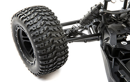 Off-Road Style Wheels And Directional Off-Road Tires