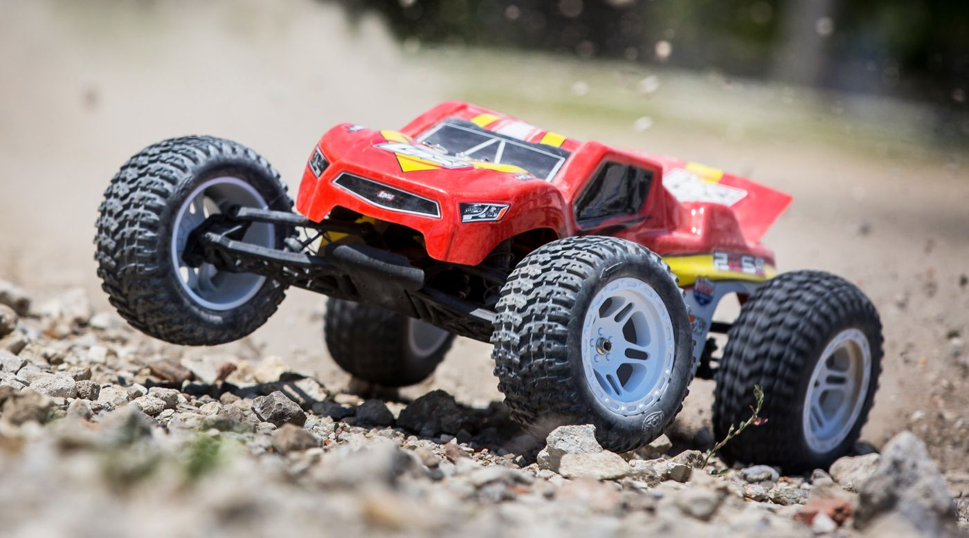 Image for 1/10 22S ST 2WD Brushless RTR with AVC: Red/Yellow from HorizonHobby