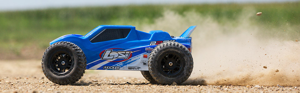 1/10 22S ST Brushless 2WD RTR with AVC, Blue/Silver
