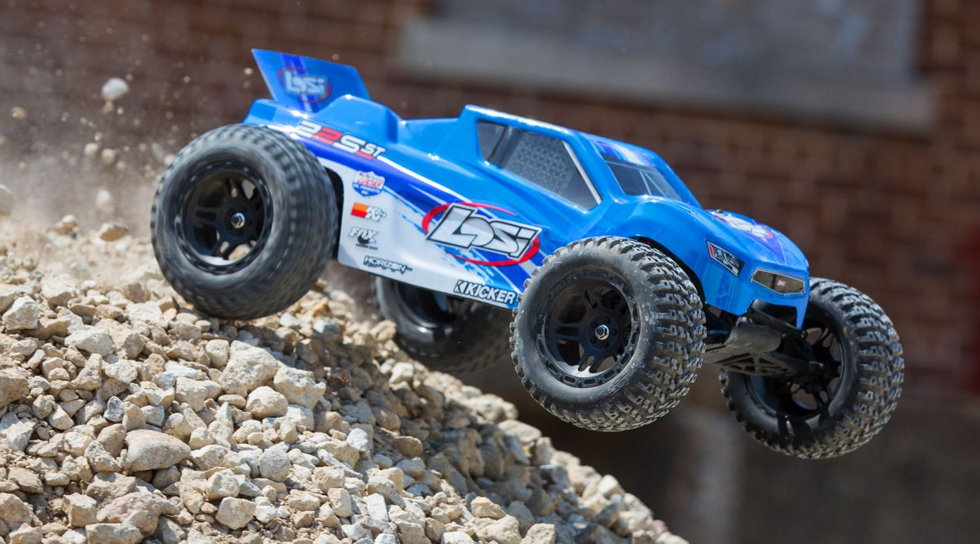 Image for 1/10 22S ST 2WD Brushless RTR with AVC Blue/Silver from HorizonHobby