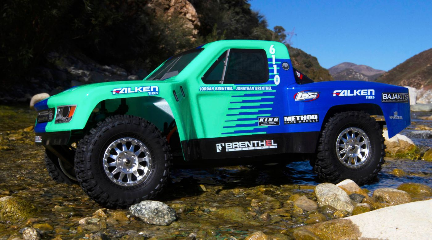 Image for 1/10 TENACITY TT Pro 4WD SCT Brushless RTR with Smart, Falken from HorizonHobby