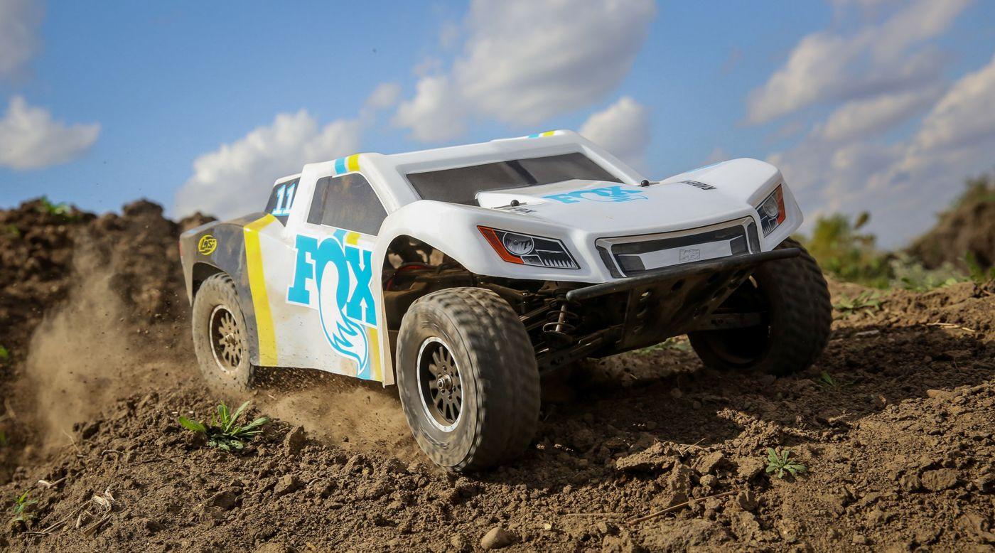 1/10 TENACITY 4WD SCT Brushed RTR, Fox Racing | HorizonHobby