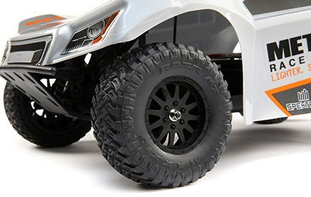 Race Inspired Scale Body with Method Wheels or Fox Racing Shocks Graphics: