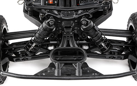 Independent Front and Rear Suspension: